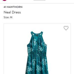 Hawthorn Floral Halter Dress- worn once!